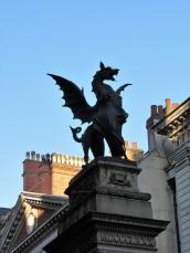 A Dragon Statue