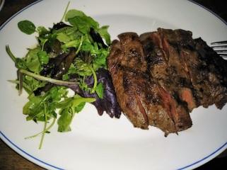 My Flat Iron Steak - yum!