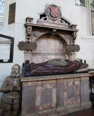 A tomb at St. Margaret's