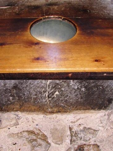 A historic toilet!