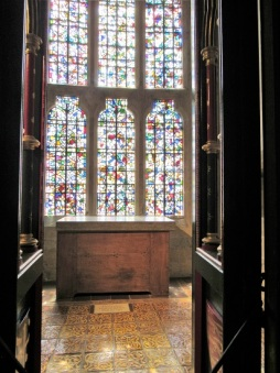 The chapel where Henry VI died, presumably murdered