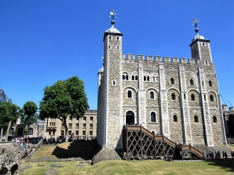 The White Tower - built beginning in 1078