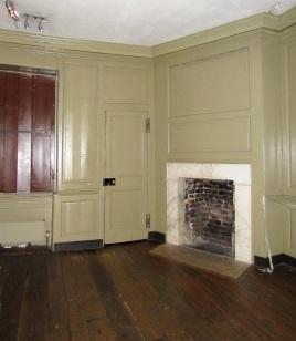 Ben Franklin's bedroom