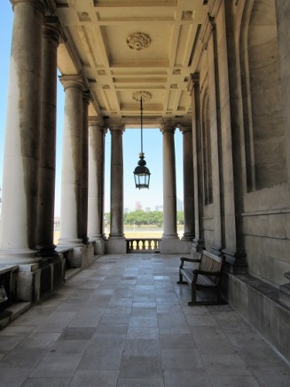 The Naval College Chapel Porch