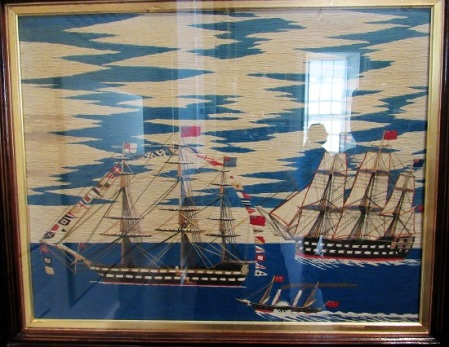 Woolwork created by a sailor