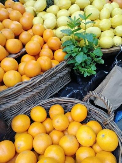 Citrus at the Borough Market