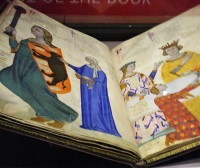 A historic book at the British Library