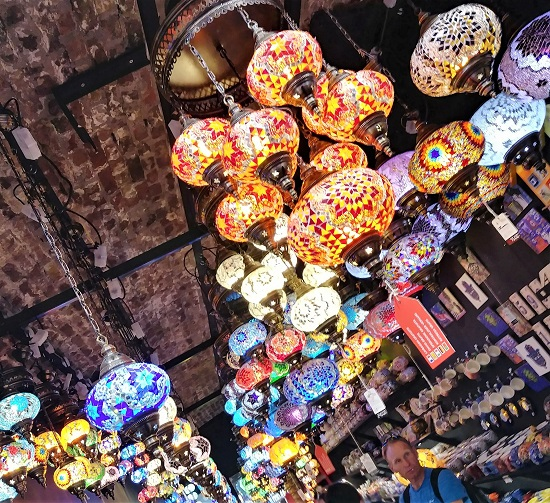 Lamps at the Camden Market