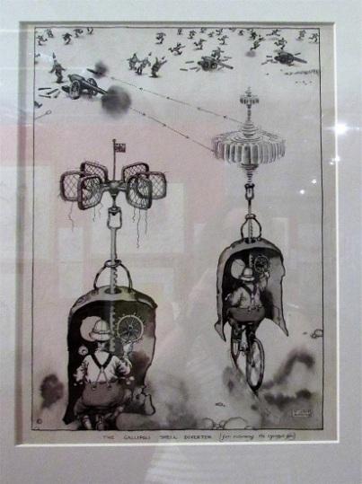 a war cartoon