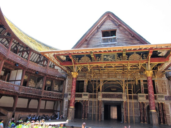 London 2018 The Globe Theatre Wine And History Visited