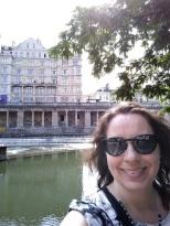 Me next to the River Avon
