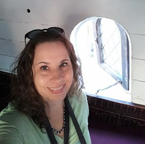 Me on the Golden Hinde
