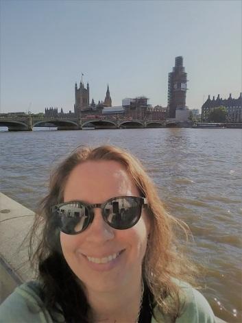 Me on the Millennium Bridge