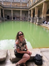 Me at the Roman Baths