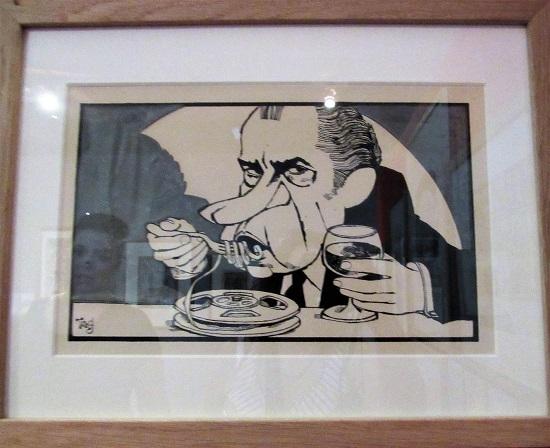 Nixon eating a reel to reel