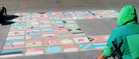 Street art maps