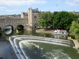 The River Avon, in Bath