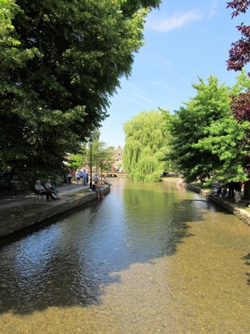The stream through Bourton on the Water