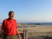 Dad in Santa Monica -2014