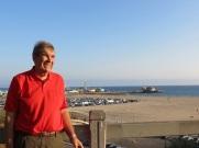 Dad in Santa Monica -2014