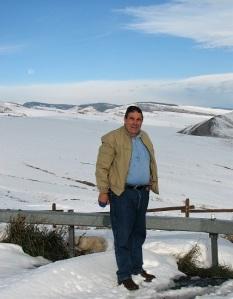 Dad loved snow