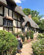 Me with the Hathaway Cottage
