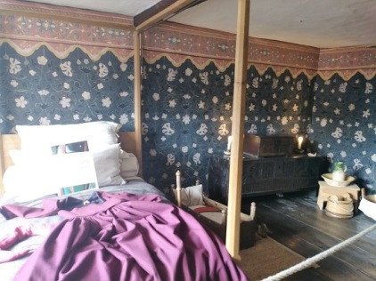 The room where Shakespeare was likely born