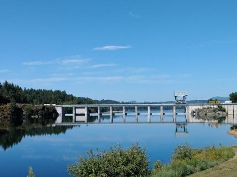 The Albeni Falls Dam