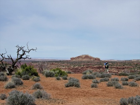 Out in front at Canyonlands National Park