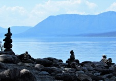Cairns at Lake McDonald