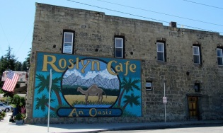 Roslyn Cafe - featured in Northern Exposure