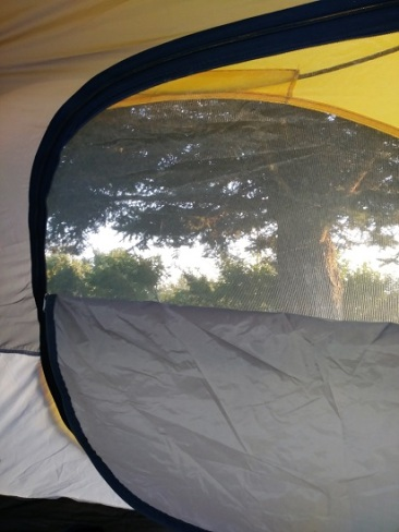 My tent in Deer Lodge