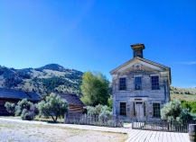 The Bannack Masonic Lodge and Schoolhouse