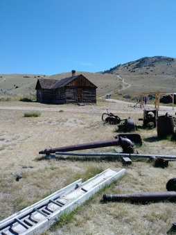 Bannack and Various Mining Scrap Metal