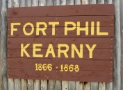 Fort Phil Kearny sign