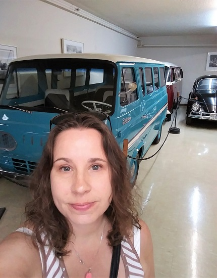 Me and an Old Ford Van