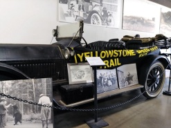 A Car from the Yellowstone Trail Speed Run