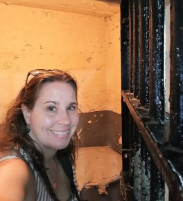 Me in a 1912 Prison Cell