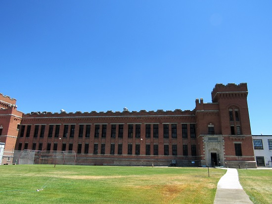 The Exterior of the 1912 Cell Block