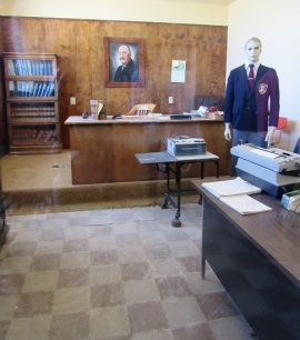 The Warden's office
