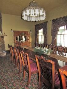 Dining Room in the Sheridan Inn