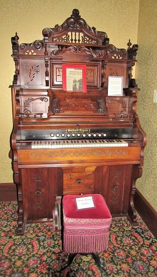 Organ in the Sheridan Inn