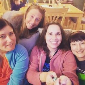 Shelley, Katie, Me, Katy