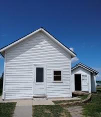 Two one-room schoolhouses