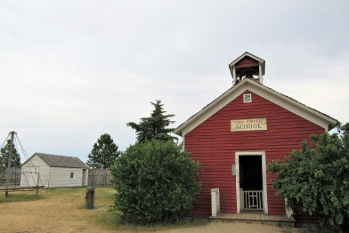 1880 Town - Dry Creek School