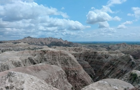 Badlands-Rock-Sky