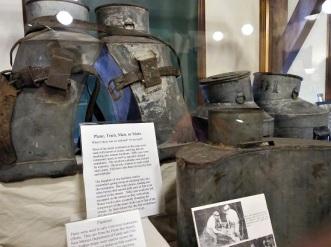 Historic transport buckets