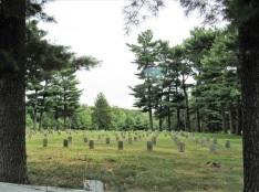 An Amana cemetery