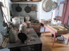 A communal kitchen