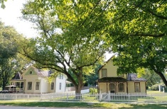 Victorian era homes in West Branch